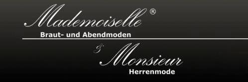 Brautmoden Mademoiselle & Monsieur - Logo